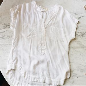 Anthropologie Cloth & Stone White blouse XS